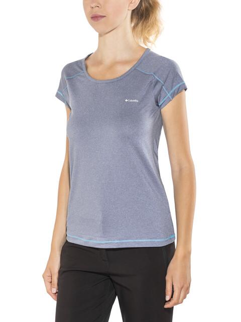 Columbia Peak to Point - T-shirt manches courtes Femme - bleu